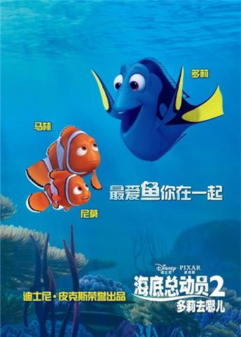 海底总动员2:多莉去哪儿 普通话版