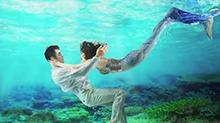 <B>王鸥</B>化身美人鱼超惊艳 水下合照美到窒息