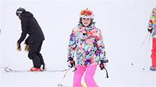 我们<B>来了</B>第二季20170922期:隐藏的滑雪&芭蕾潜力股关之琳 宋茜求胜心切成雪上速度王