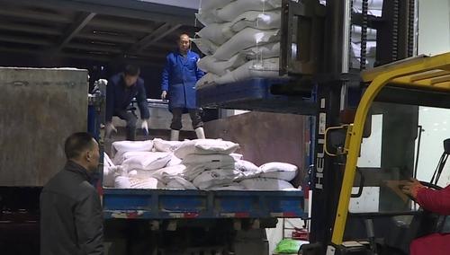 长沙累计发放2000余吨融雪盐