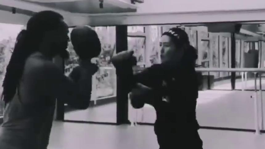 """""""女拳王""""谢娜上线"""