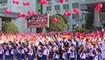 邵东:千名市民放飞祝福气球